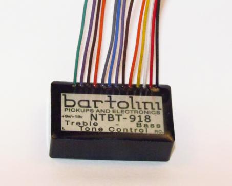 NTBTファミリーBass用2BandEQプリアンプ