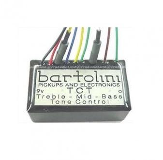 TCTファミリーBass用2/3BandEQプリアンプ