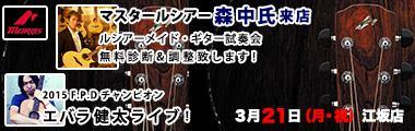 ドルフィンギターズ・イベントページ