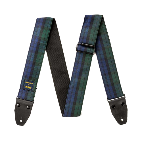 PWM12 Black Watch Tartan Jacquard Strap